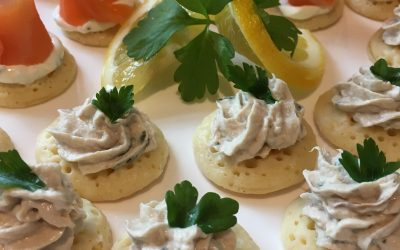 Seafood Canapes